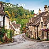 England 2021 12 x 12 Inch Monthly Square Wall Calendar, UK United Kingdom Scenic