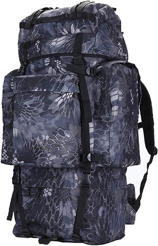XYW-0006 Sac à Dos Alpinisme en Plein air Rain Cover épaule de Montagne Tactique Grande capacité Voyage Camouflage Sac de Voyage male 100L