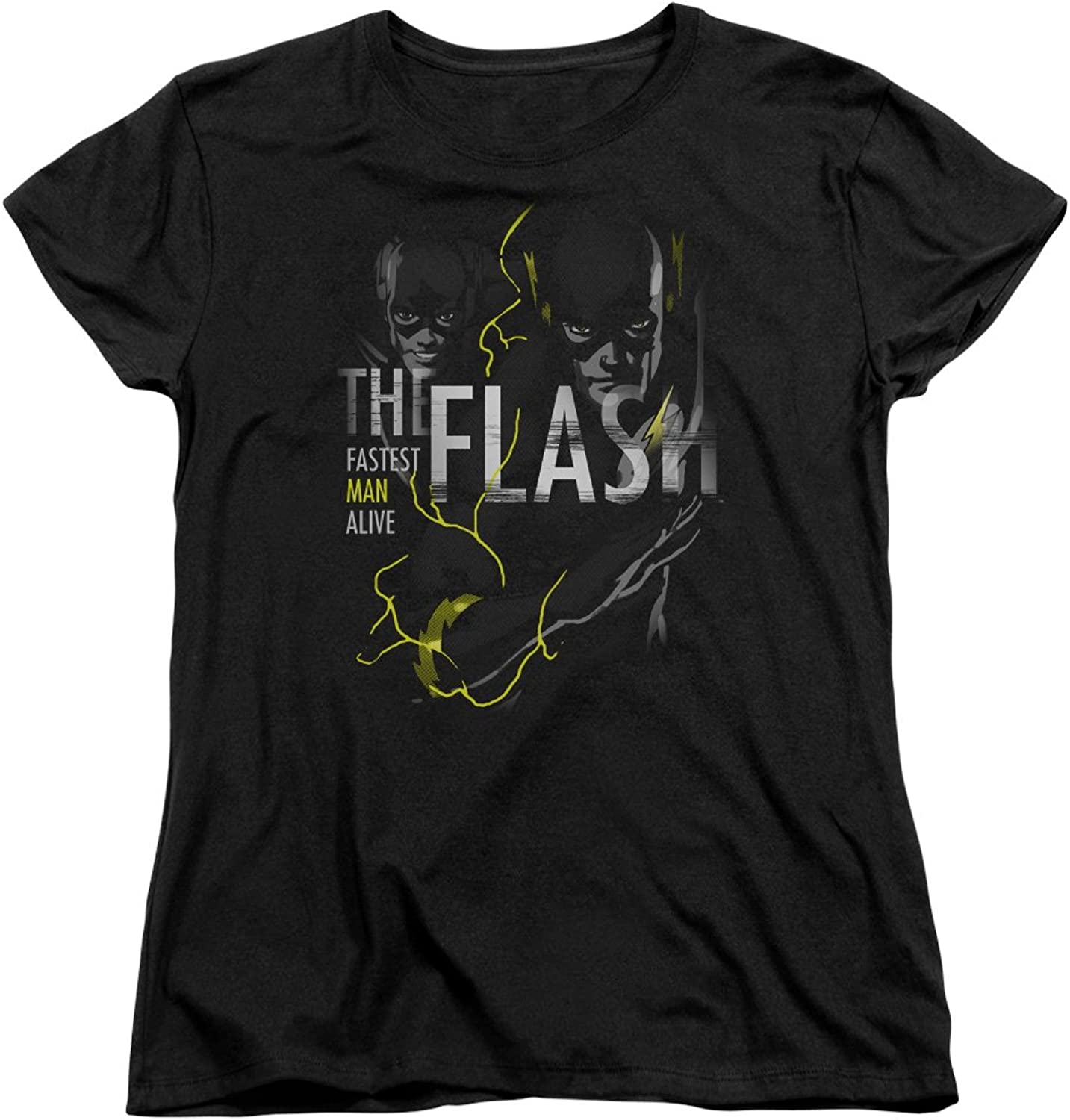 Dc Flash  Womens Bold Flash TShirt