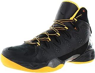Nike Mens Air Jordan Melo M10 Basketball Shoes Black/Atomic Mango 629876-013 Size 11.5