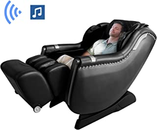 Ootori A900 Massage Chair Recliner,SL Track 3D Hand Zero Gravity Massage Chairs,Full Body Airbag Calves, 3 levels Intensity Adjustable,Yoga Stretching, Bluetooth Speaker&Foot Roller(Black)