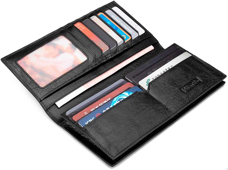 990eda81b015 Kalmar RFID Travel Wallet Stealth Stealth Stealth Mode Men's Leather ...