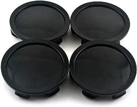 75mm Black ABS Car Wheel Center Hub Caps Set of 4 for OZ Racing Superforgiata M608 81310409