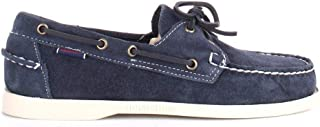 Luxury Fashion | Sebago Men 7000G90908B9 Blue Suede Loafers | Spring-summer 20