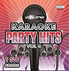 Karaoke Party Hits Vol 4 CDG CD+G Disc Set - 150 Songs on 8 Discs Including The Best Ever Karaoke Tracks Of All Time (Take That ,Beyonce, Beatles, Elton John, One Direction & much more