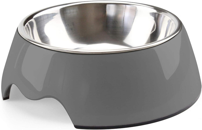 choemore Dog Bowl Stainless Steel Anti-Slip 2021 new Di Cat Regular store Food