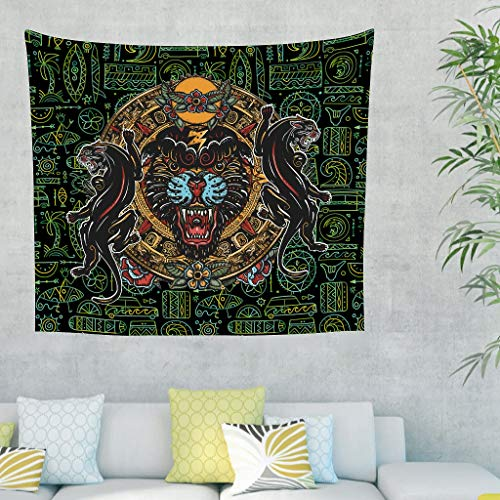 Wingard Leviosar Tapestry India Ma-yan Wall Tapestries - Large Tablecloths for Dorm Decor white 91x59inch