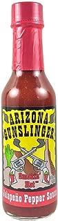 Arizona Gunslinger Smokin Jalapeno Red, 5oz. - 3 BOTTLES!