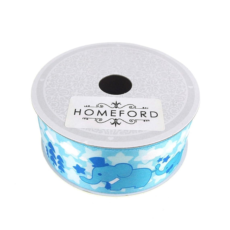 Homeford FCR00SSE1102BLUE Ribbon 1-1/2
