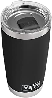 Rambler 20 oz Tumbler, Stainless Steel, Vacuum Insulated with MagSlider Lid