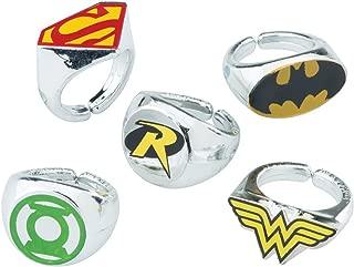 SmileMakers DC Comic Superhero Rings - Prizes 50 per Pack