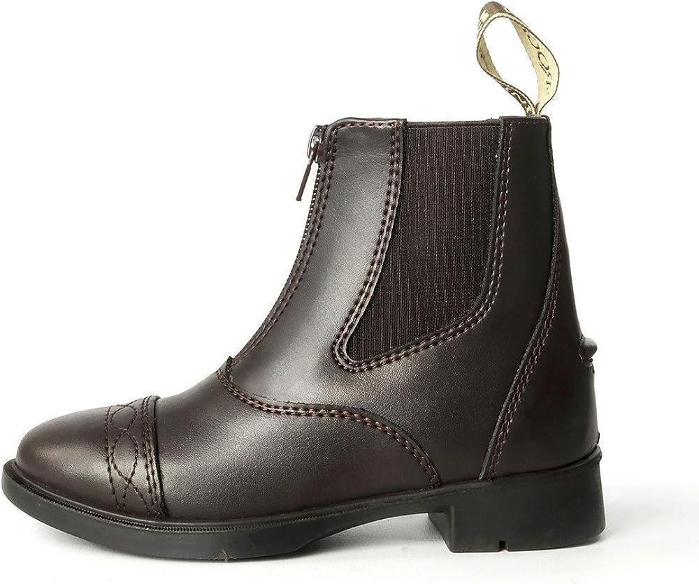 Brogini Unisex Childrens Leather Tivoli Piccino Zipped Boots