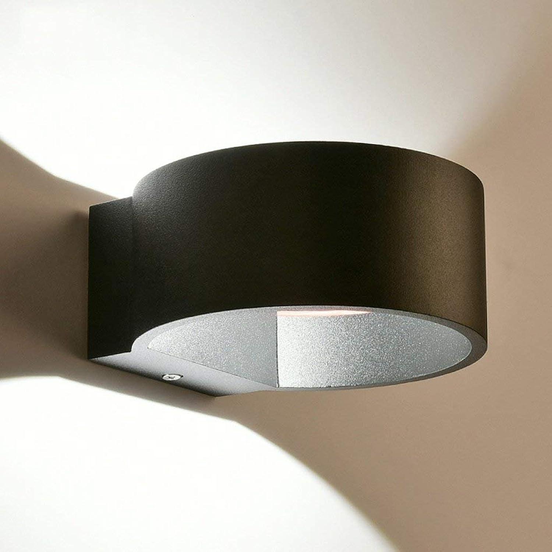 LQB Einfache Moderne Wohnzimmer-Wand-Lampen-Kreative Persönlichkeits-Studie-Wandlampe-europäische Kunst führte führte führte Nachttisch-Wand-Lampe B07G7R795Z   Modern Und Elegant In Der Mode  a3b4b5