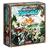 Grey Fox Games Champions of Midgard Strategy Board Game, 60-90 minute playing time, Ages 10 and up, 2-4 players, Dice-Driven Combat to Gain the Most Glory & Become the Next Jarl