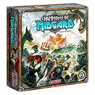 Grey Fox Games Champions of Midgard Strategy Board Game, 60-90 minute playing time, Ages 10 and up, 2-4 players, Dice-Driven Combat to Gain the Most Glory & Become the Next Jarl (B014TKCZ4K) | Amazon price tracker / tracking, Amazon price history charts, Amazon price watches, Amazon price drop alerts