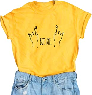 e0d628896ffdb LOOKFACE Women Cute T Shirt Junior Tops Teen Girls Graphic Tees