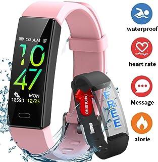 comprar comparacion HOFIT Pulsera Actividad Reloj Inteligente Fitness Tracker Podómetro Monitor de Sueño Contador de Calorías Pasos Rastreador...