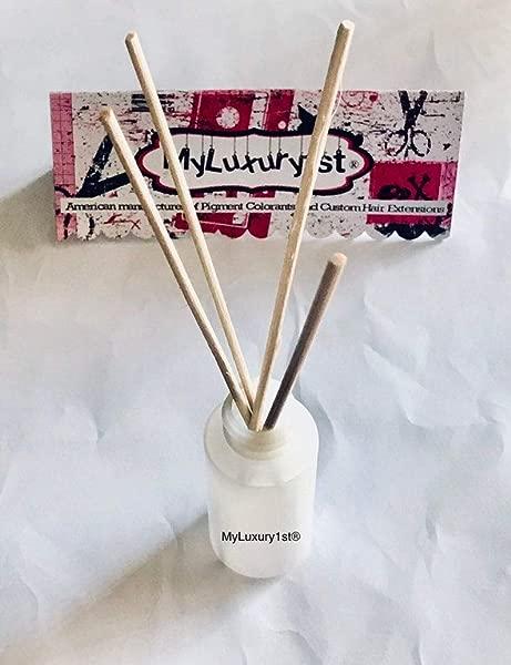 冷杉丁香芦苇扩散器使油香味笔芯 2 盎司油 4 奖金棒