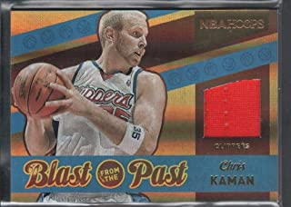 BIGBOYD SPORTS CARDS Chris Kaman 2014/15 PANINI Hoops Blast from Past #28 Game Jersey Clippers SP