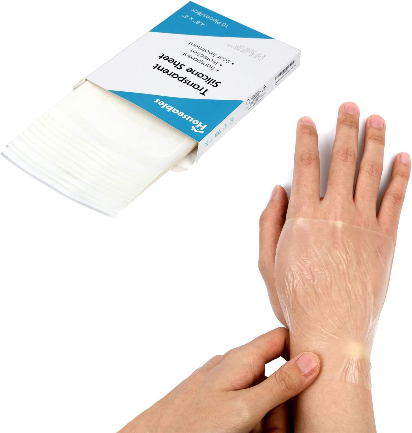 Houseables Silicone Scar Today's only 35% OFF Gel Sheets for Patches Treatment Scars