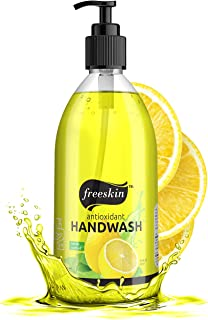 Freeskin Lemon Hand Wash Gel - 500ml | Nourishing Natural Ingredients Cleans Skin Without Dryness | Gently Removes Dirt | ...