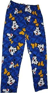 Disney Goofy Allover Mens Pajama Pant Royal