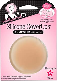 Hollywood Fashion Secrets Silicone Coverups, Medium Shade