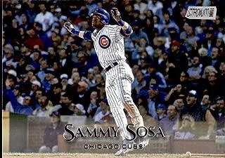 2019 Topps Stadium Club #233 Sammy Sosa Chicago Cubs Baseball Card
