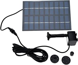 Docooler 1.8W 9V New Solar Brushless Pump For Water Cycle/Pond Fountain/Rockery Fountain