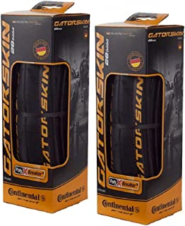 Continental GatorSkin DuraSkin Clincher Bike Tires, 2-Count