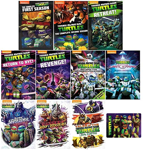 Teenage Mutant Ninja Turtles: The Complete Reboot TV Series Seasons 1-5 DVD...