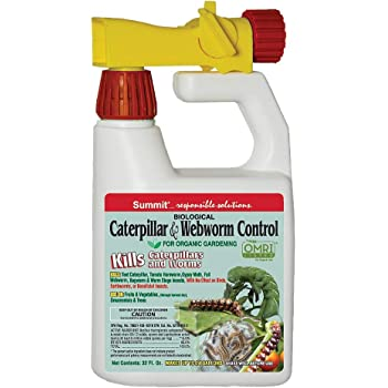 SUMMIT 021-6 Caterpillar and Webworm Control-Hose End, 1-, Quart