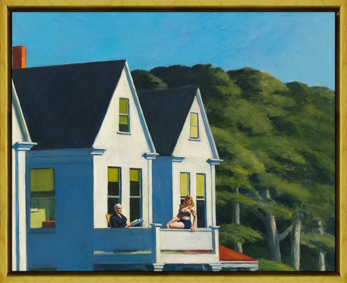 信託 Berkin Arts Framed Edward Hopper Paintings Giclee P 捧呈 Print Canvas