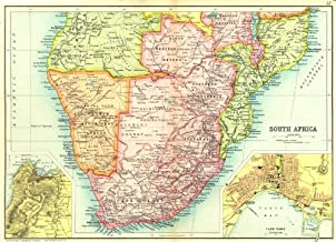 Best map of south africa botswana and zimbabwe Reviews