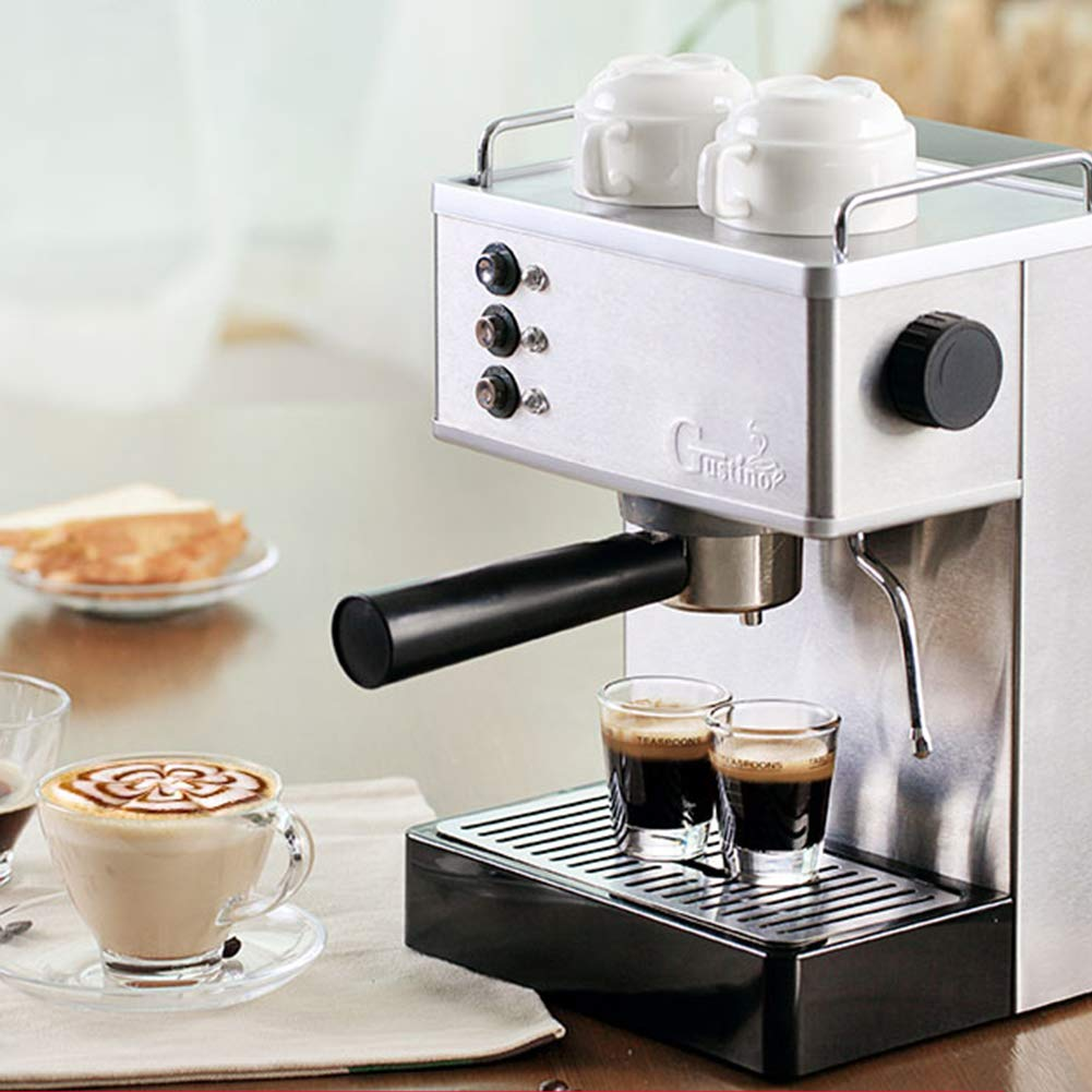 IDABAY Cafetera Express, Caldera de Acero Inoxidable Cafetera para ...