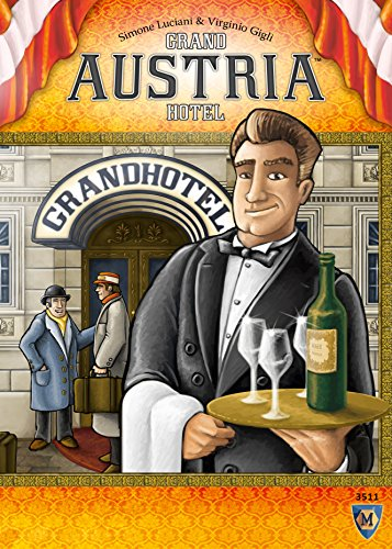 Mayfair Games MFG3511 Brettspiel Grand Austrian Hotel