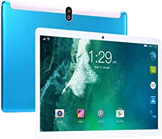 Tablet 10.1 inch System 8.1 Tablet PC, 6GB RAM, 64GB Storage, WiFi, Bluetooth,GPS, 1280X800 IPS Screen, 3G Phablet with Du...