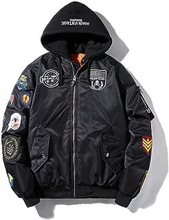 Air Force Pilot Jacket Windproof Locomotive Badge Coat Baseball Uniform Hip hop Street Dance Costume Lovers