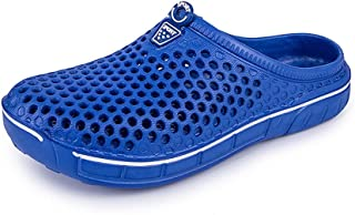 Unisex Muller Shoes Summer Garden Shoes Adult Clogs Lightweight Breathable Slippers Quick-Drying Mesh Water Shoes Non-Slip...