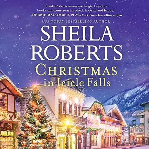 Christmas in Icicle Falls audiobook cover art