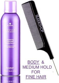 Alterna Caviar Anti Aging MULTIPLYING VOLUME STYLING MOUSSE, Body & Medium Hold for FINE HAIR (Stylist Kit) (8.2 oz / 232 g)