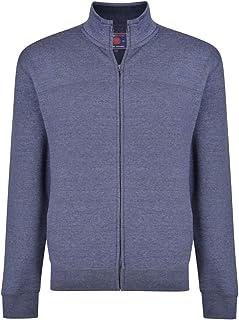 Men's Big and Tall Basics Full-Zip Sweater Sweatshirts Cardigan Jumper