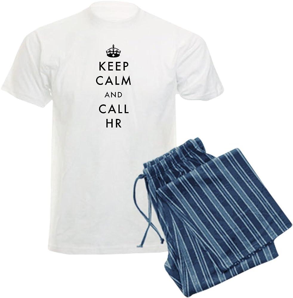 CafePress Keep Calm and HR Now free shipping Pajama Set Nashville-Davidson Mall Call