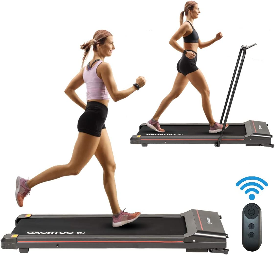 FACETHEWIND Folding Treadmill with LED Cheap SALE Start Ranking TOP10 Phone Ipad Holde Display