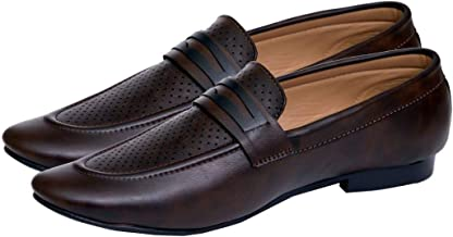 Hush Berry Ethnic Luxary Casual Shoe for Men Moccasins Lofers