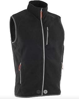 decathlon Hiking Fleece Gilet Men's Mountain Black, Active Sport, Lightweight Breathable
