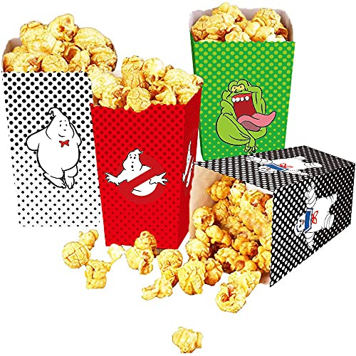 24Pcs Ghostbusters Party Popcorn Boxes