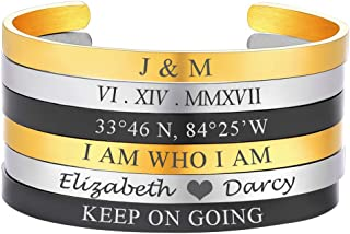 mens bracelets you can engrave