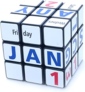 3x3x3 Calendar Cube Black Picture Cube Sticker Mod Twisty Puzzle