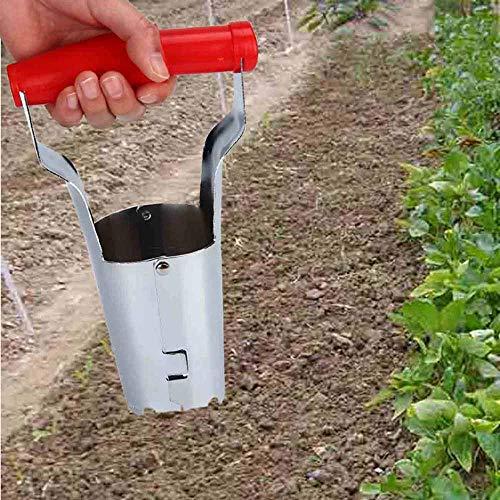 MOC Plantador automático para bulbos de flores, herramienta de jardín ideal y accesorio de jardín ideal para plantas